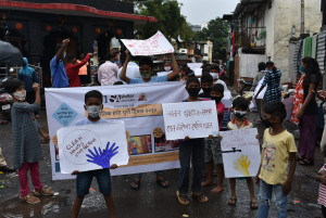 Awareness Rally on hand washing