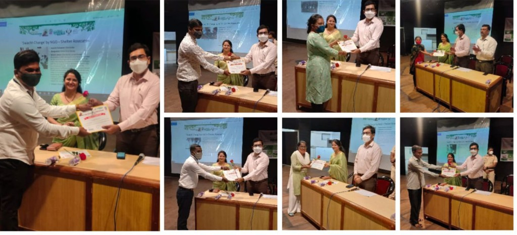 Felicitating team Shelter Associates
